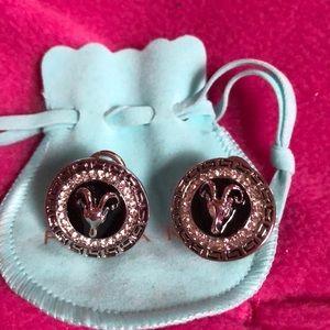New flora Koh Pierced Earrings with rams